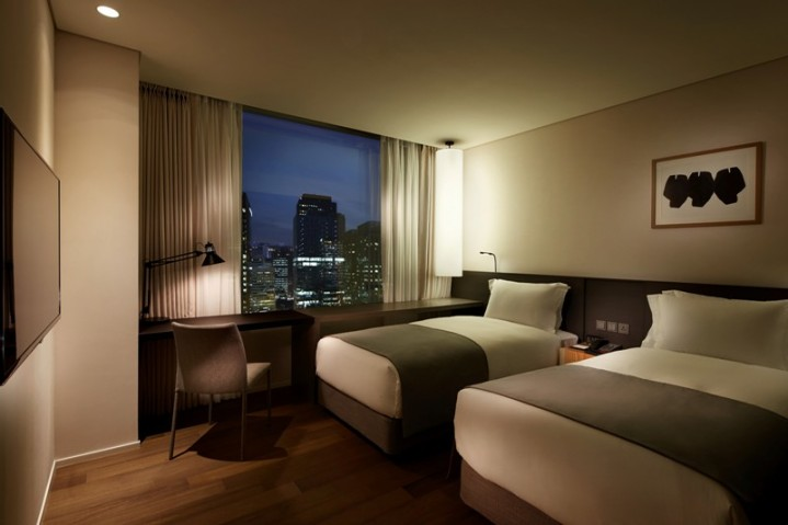 Shilla-Stay-Gwanghwamun-Twin-Room