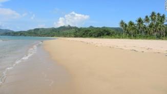 Pantai Nacpan di Filipina menduduki posisi ke-10