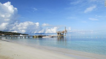 Pantai West Bay, Honduras, menduduki posisi ke-9