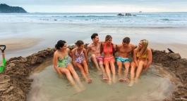 NZ-Hot Water Beach_Coromandel by Adam Bryce