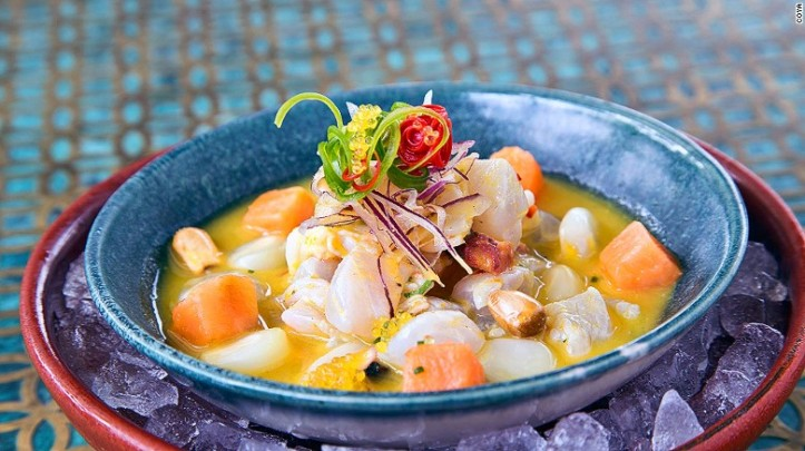 Hidangan Peru menjadi andalan di Coya, Dubai - foto: cnn.com