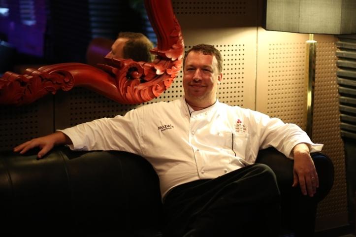 Master Chef Chris Salans