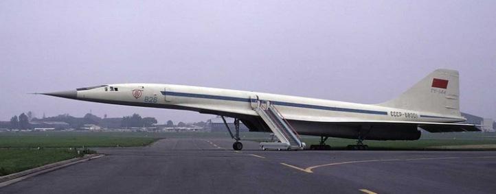 TUPOLEV TU-144 SUPERSONIC AIRCRAFT SST